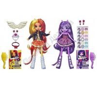 My Little Pony Equestria Girls 2 Куклы в упаковке Sunset Shimmer и Twilight Sparkle