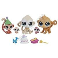 Игровой набор Littlest Pet Shop - Семья петов