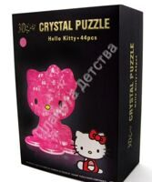 3D пазл Crystal Puzzle Hello Kitty